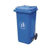 Wheelie Plastic Pedal Recycle Dustbin (120L)