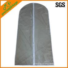 Promoção eco reutilizável PEVA suit cover garment bag