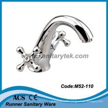 Double Handle Basin Mixer (M52-110)