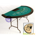 Demi-cercle Blackjack Table pliante