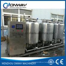 Sistema de limpieza CIP de acero inoxidable Máquina de limpieza de álcali para limpieza en el lugar