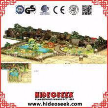 Jungle Theme Ce Standard Chidlren Zona de juegos interior para el Centro de recreación