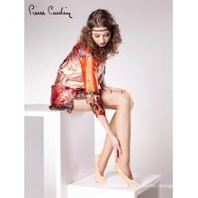 Pierre Cardin OEM Venta al por mayor Cómodo corto tobillo mujeres calcetines diferentes colores
