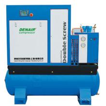 15hp Combined mini screw air compressor