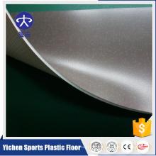 L'usine de construction fournit le plancher commercial de PVC de type de loisirs de plancher de PVC
