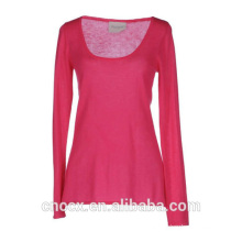 15STC1001 spoon neck cashmere sweater
