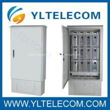 Gabinete de distribución al aire libre con soporte 1200 o 2400 pares
