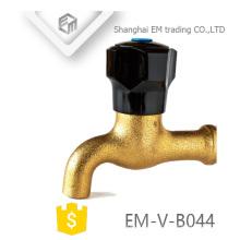 EM-V-B044 Torneira de bico de bronze de polo preto