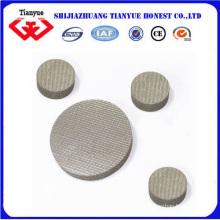 Filtro sinterizado 316L de acero inoxidable