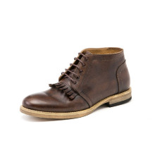 Fashion Genuine Leather Men Lace-up Shoes (NX 441)