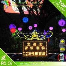 Boule imperméable à LED étanche à haute qualité en plein air