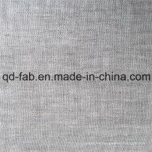 Tela de lino teñida hilado (QF16-2478)