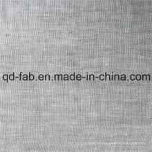 Tecido de linho tingido fios (QF16-2478)