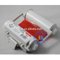 Red white ink ribbon 120mm*55m sl-r102t sl-r103t for Max Bepop CPM-100hc pm-100 machine