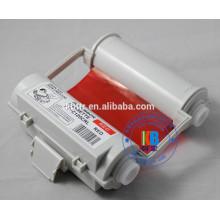 Impressora de cor compatível fita azul branco vermelho 120mm * 55m para Impressora de etiquetas Max CPM1-100HG3c PM-100 CPM-100hc