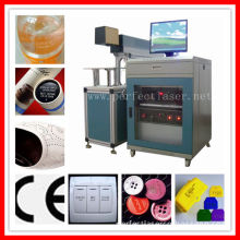 10W 30W 60W Plastic/ Cloth/ Jeans /Cable CO2 Laser Marking Machine with CE