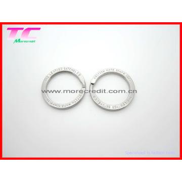 Custom Metal Split Key Ring