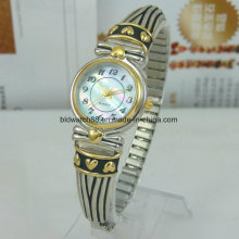 Women′s Bracelet Watches Antique Silver Wrist Watch for Lady Girl