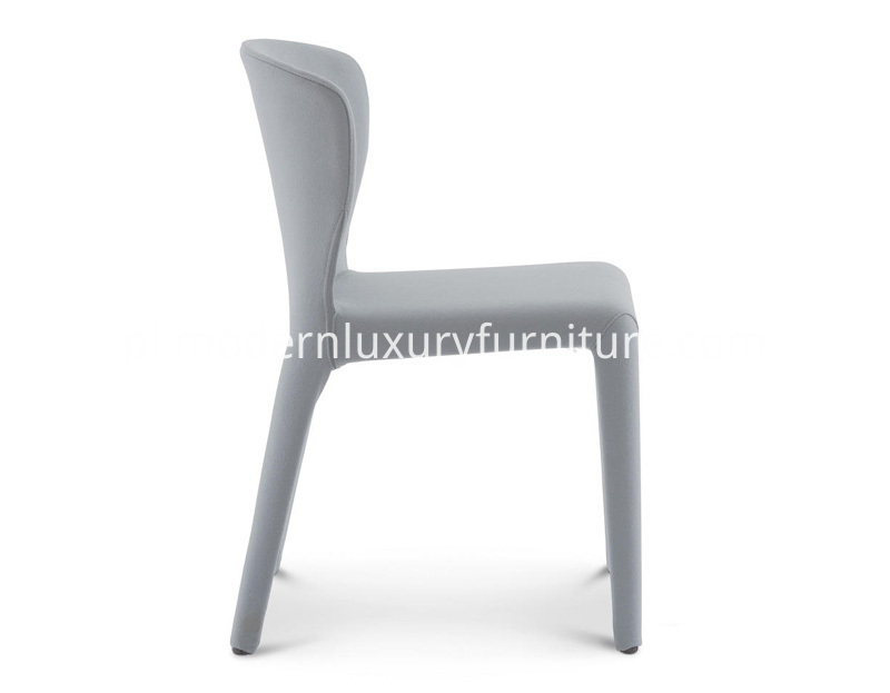 369 Hola Cassina Sedia Chair Design Hannes Wettstein Pelle Ecopelle Tessuto Leather Fabric Modern