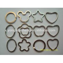 Porte-clés en métal à prix personnalisé