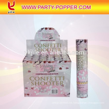 Ventas calientes wedding streamer party poppers