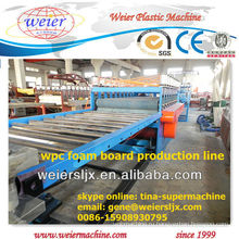 400кг/ч большинство профессиональных доски пены PVC WPC делая машину