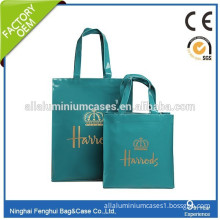 Italy pvc waterproof shopping bag tote bag luxury for women and men