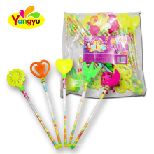 New Toy Candy Item Lighting Magic Wand Toy With Candy