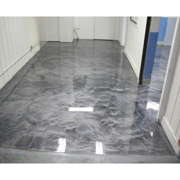 Bangunan Kediaman Metallic Floor Epoxy
