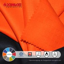feuerhemmender Stoff aus Baumwolle für Kleidungsstücke