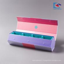 Boîtes personnalisées personnalisées décoratives imprimées pour l'emballage de gâteau