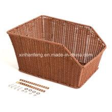 Outdoor Rattan Hanging Basket for Bike (HBK-109)