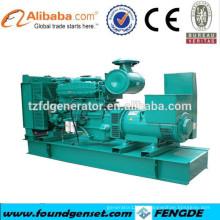 Fabricant de marque approuvé CE générateur d'énergie électrique 600 kw