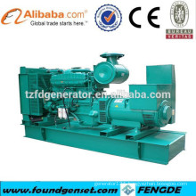 CE approved brand manufacturer electric power generator 600 kw