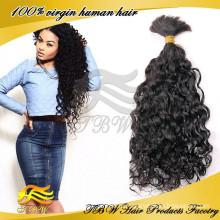 Русском плетение волос оптом, свободные вьющиеся человеческих волос оптом товары из Китая