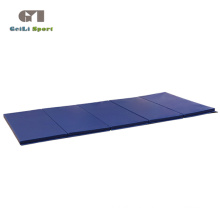 Folding Thick Blue Gym Exercise Mat