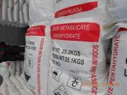 STPP substitute Granular sodium metasilicate inorganic salt