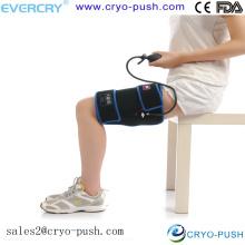 Enveloppe froide de jambe de compression pour l'attelle de tibia, bande d'IT, usage de maison d'hôpital de gymnastique de tension de fracture