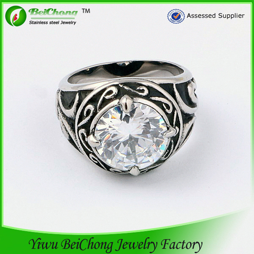 Fashion Ring with Big Stone