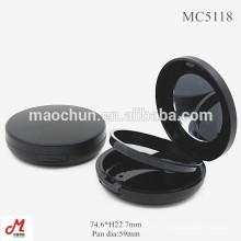 MC5118 Boite ronde en plastique ronde en poudre compacte 59 mm