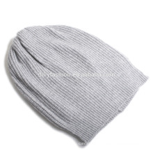 Slouch Cap Warm Cashmere Plain Beanie Crochet Knit Ski Unisex Fashion Hat Solid Color Cap