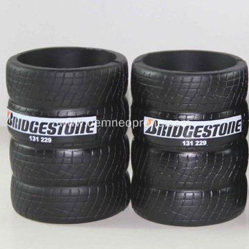 Tyre Shaped stubby cooler for beer cans