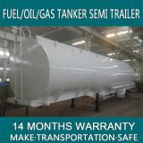 Low price 45000 liters Aluminium petrol tanker trailer,oil tank truck