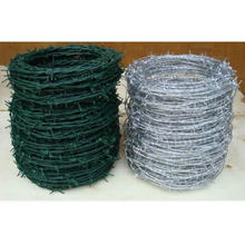Security Galvanized PVC Coated Barbed Wire with 20 Years China Manufacture Xingang Port