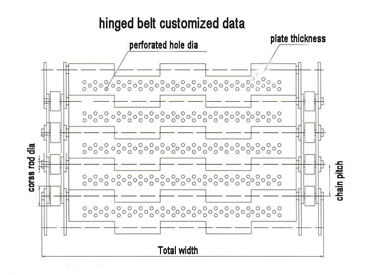 Chain Plate Conveyor Mesh Belt (004)