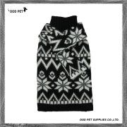 Warm Scarf Snowflake Dog Sweaters