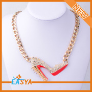 New Fashion Alloy Pendant Necklace Sex Women Shoes Jewelry