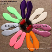 New Design High Quality Breathable Memory Foam Sport Insole (FF506-2)
