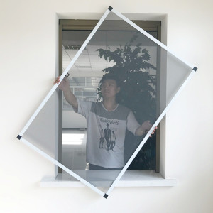 DIY fly screen for aluminum window