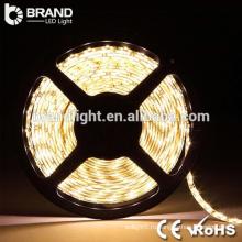 Теплый белый 5M / Roll SMD 2835 12 вольт Светодиодные полосы света, 3000K 12V Светодиодные полосы света